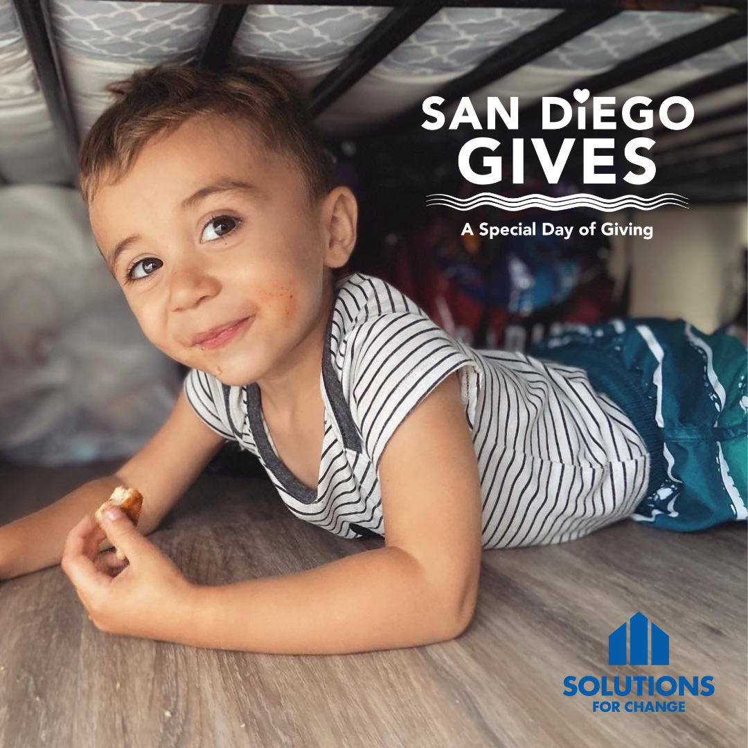 Solutions for Change joins first annual San Diego Gives!