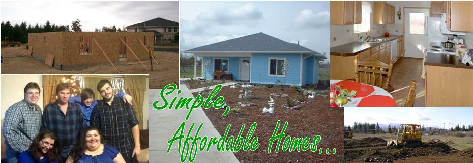 Simple, affordable homes