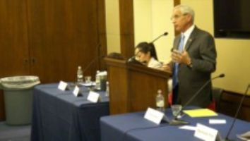 Bob Block - Speaking at the NHCVA Congressional Briefing