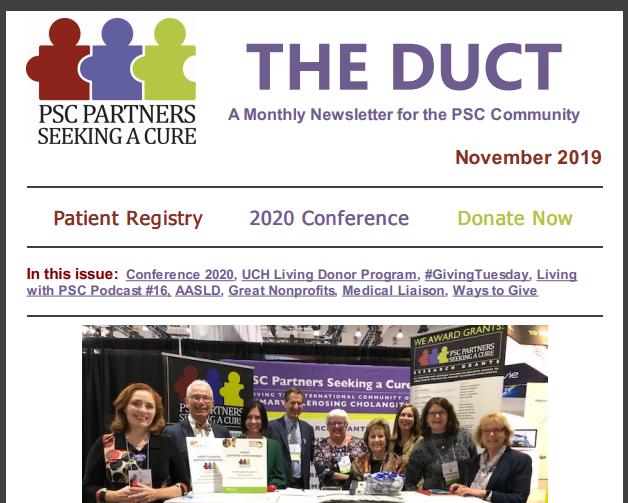 November 2019 Newsletter