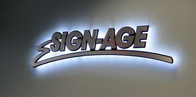 Illuminated 3D Logo