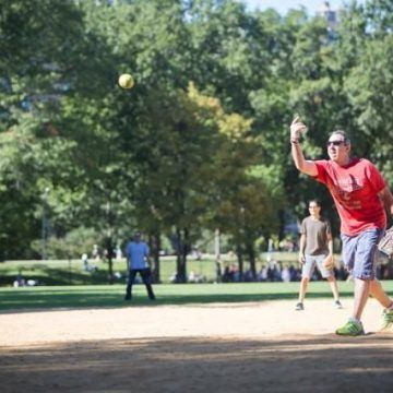 Last-Minute Long Weekend Softball Tourney