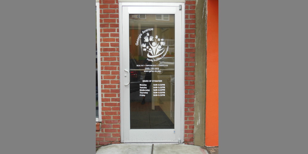 Logo Door Decal