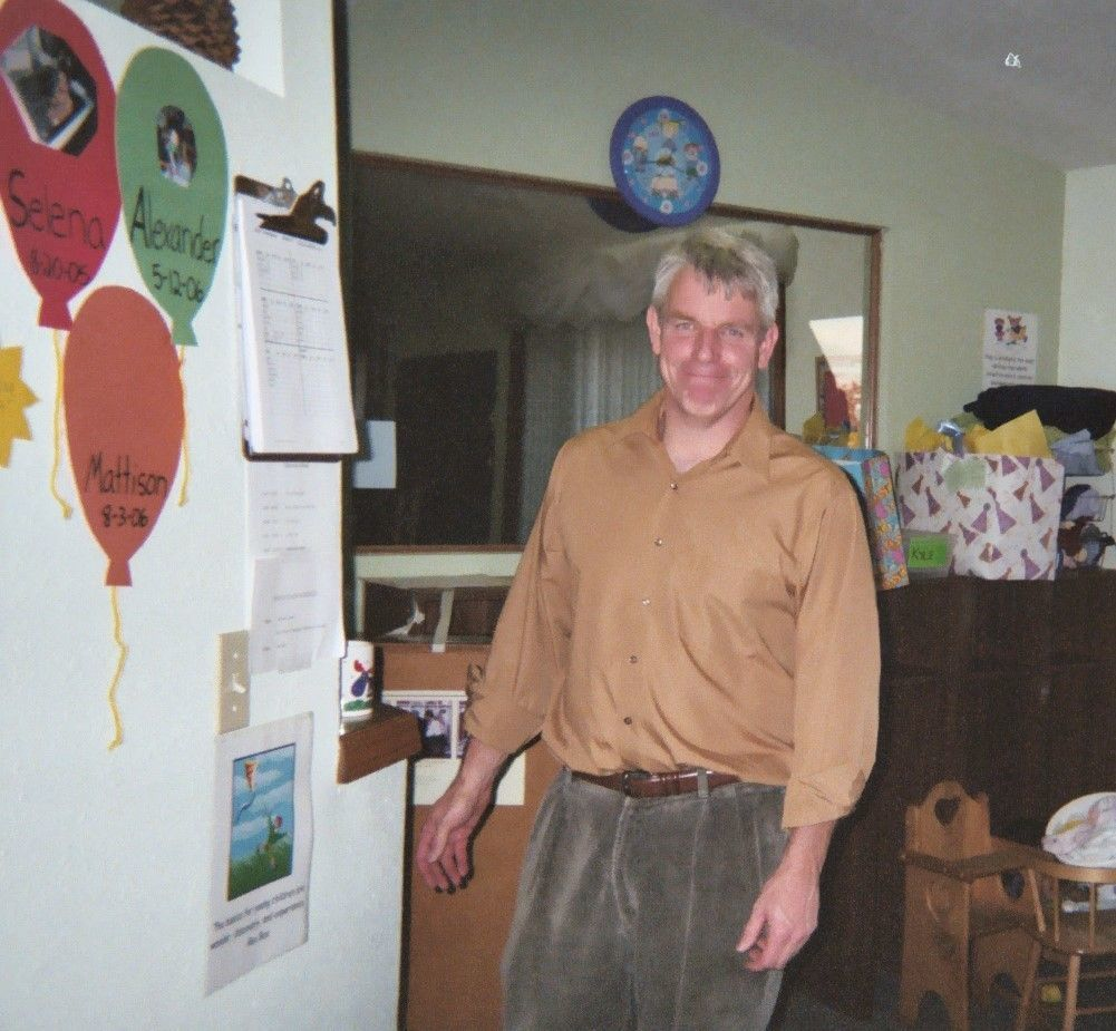 Tim Rusk, Executive Director, in 2006