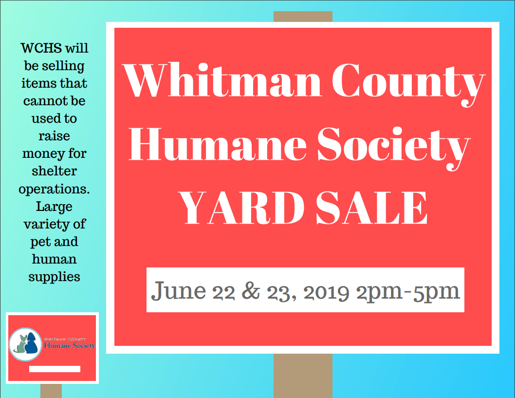 WCHS Yard Sale This Weekend