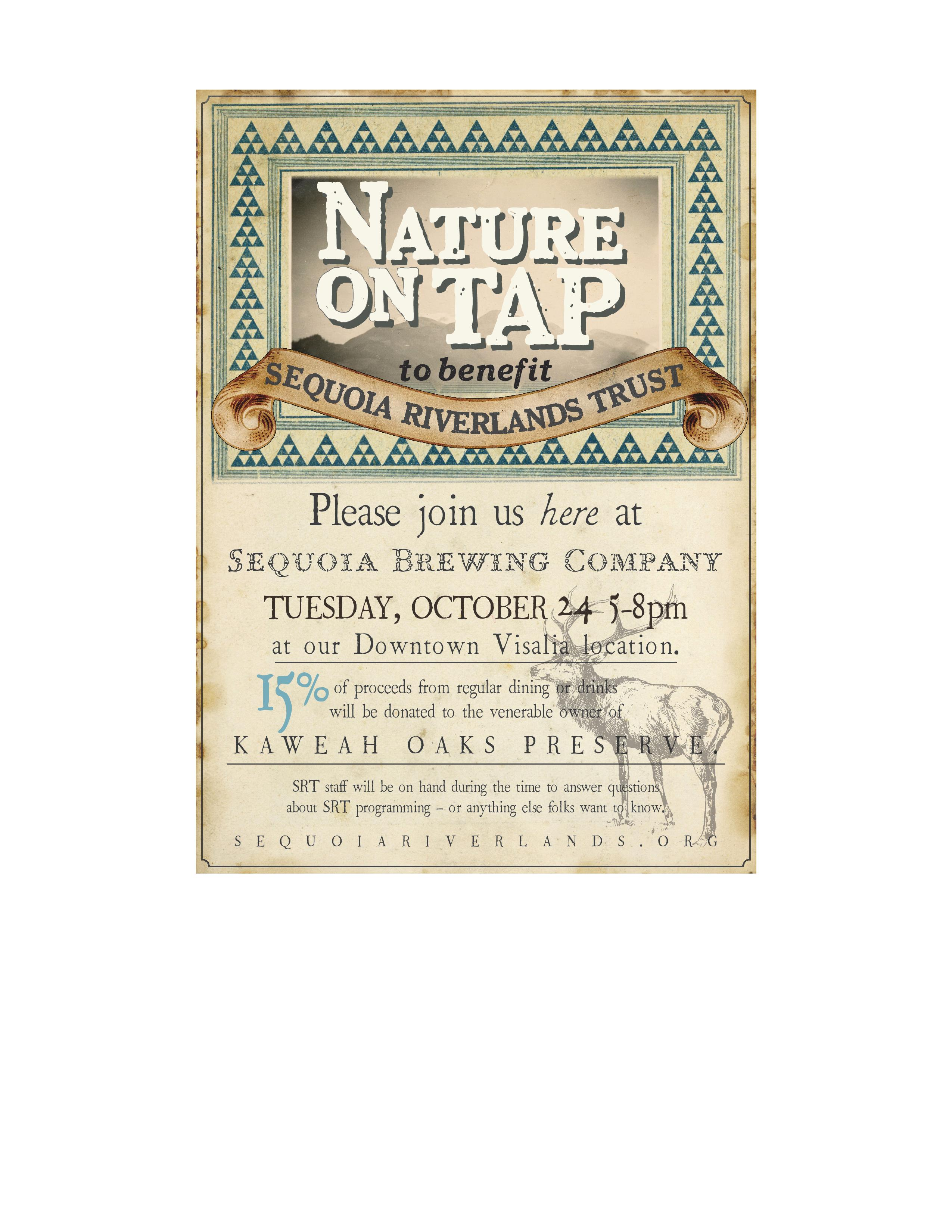 Nature on Tap night at Sequoia Brewing Co.