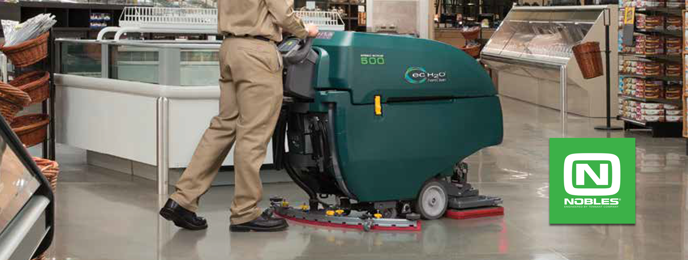 Eakes Adds Nobles Janitorial Equipment Line