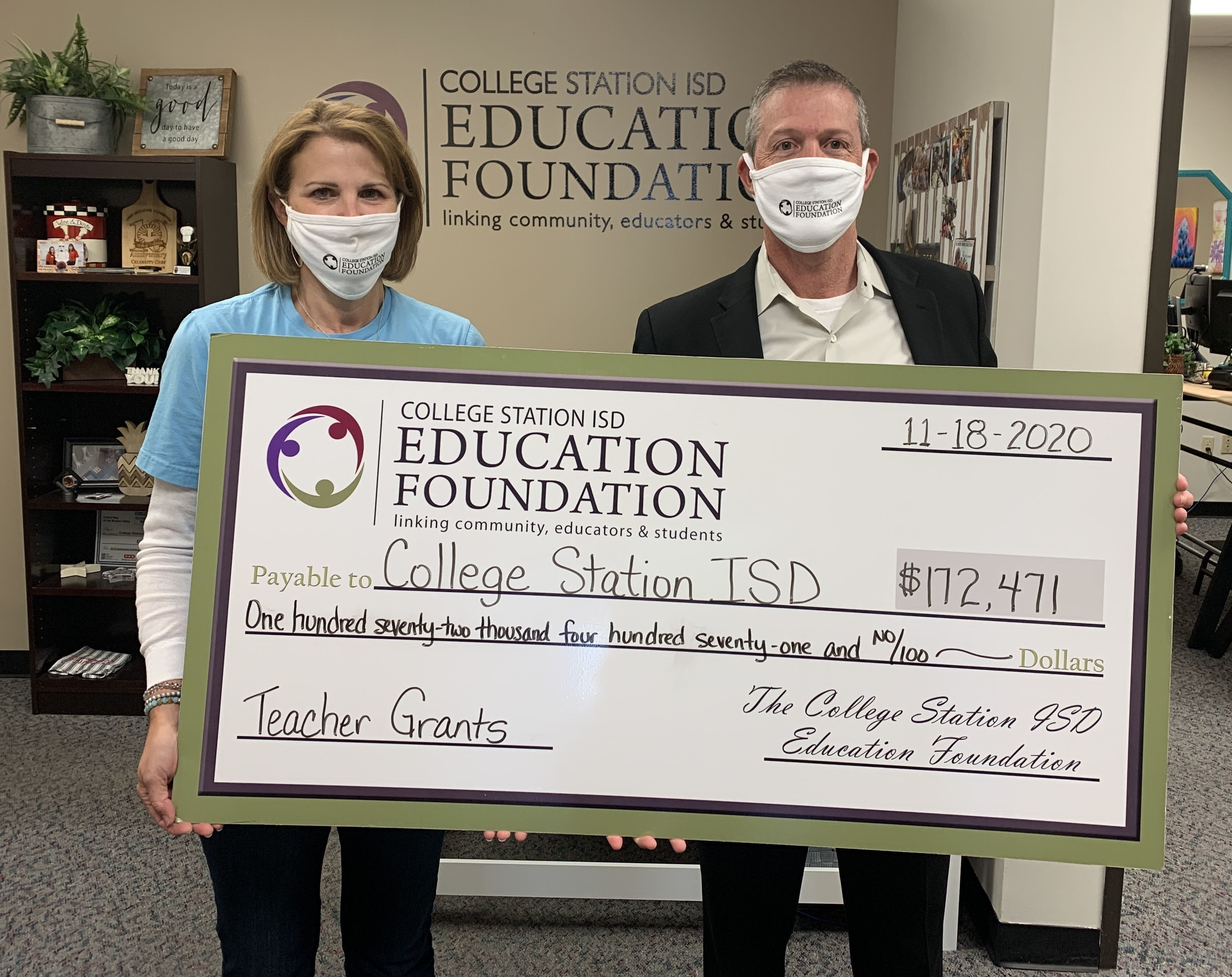 CSISD Education Foundation Awards $172,000 in Innovative Teaching Grants