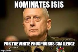 Saint Mattis of Quantico, the Patron Saint of Chaos