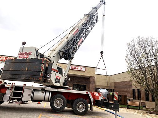 Crane Moves MRI