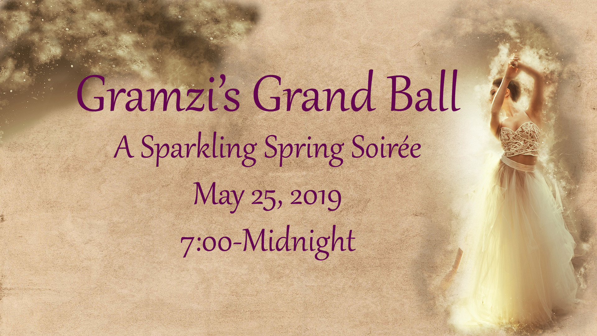 You are Invited to Gramzi's Ball