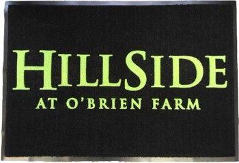 Hillside at Obrien Farm floor mat