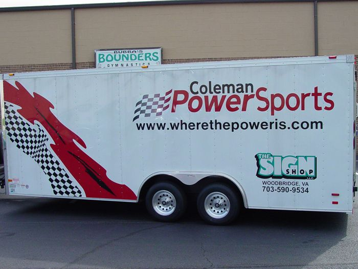 Coleman Powersports Trailer Graphics