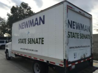 Box Truck Lettering Bend Oregon