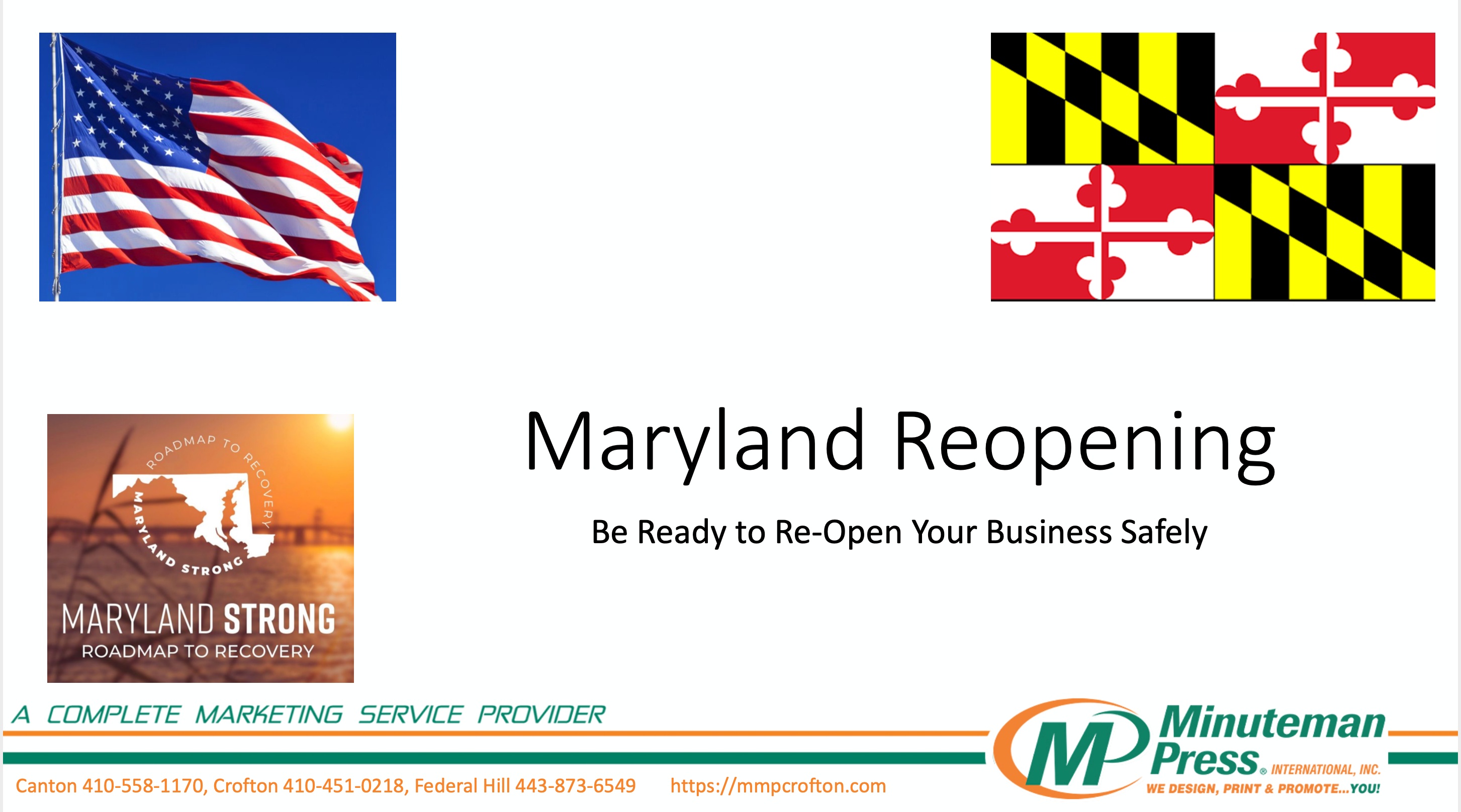 Maryland Reopening