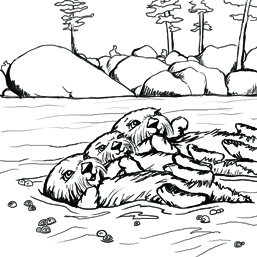 Joshua 1 9 Coloring Pages http://www.joshtheotter.org/resources/kids/coloring-pages.html