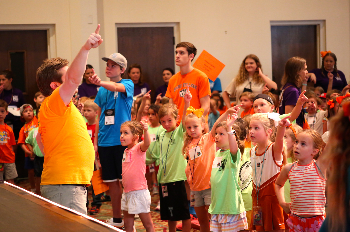FUMC Children Singing in Vacation Bible School