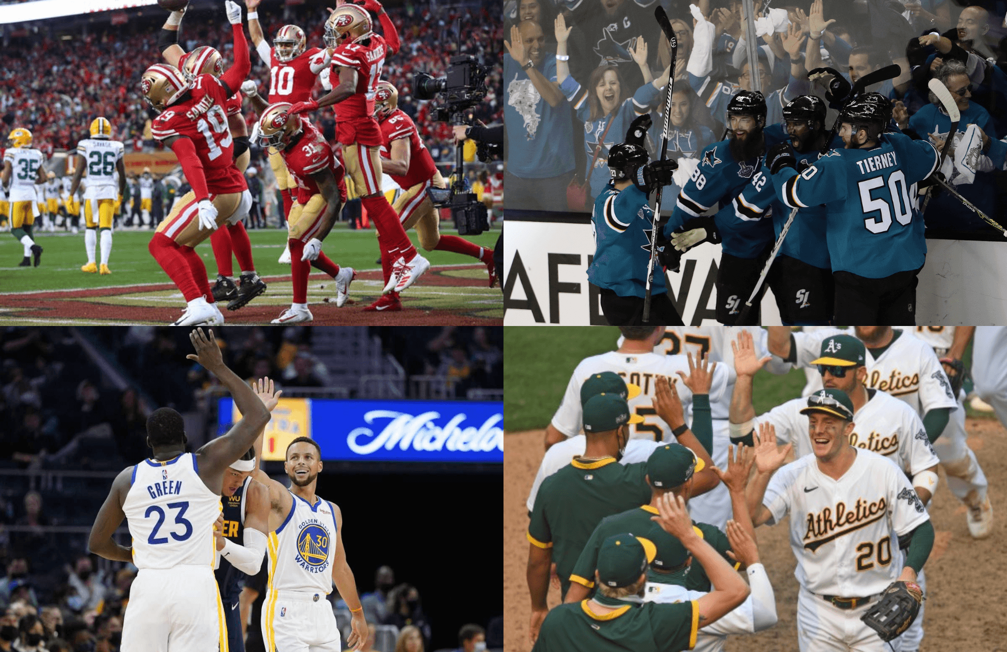 Bay Area Sports Raffle!