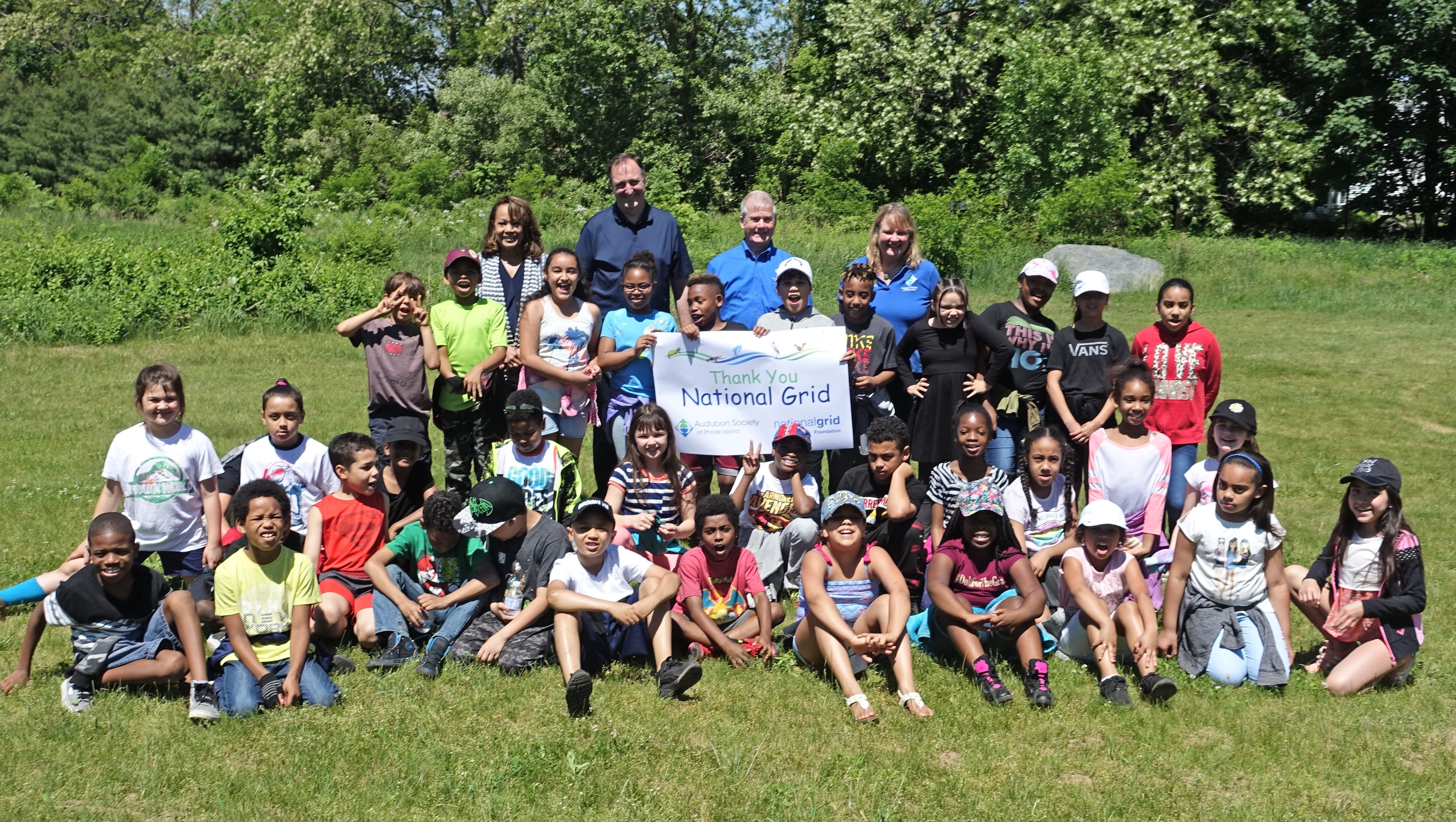 Audubon Receives $20,000 Grant From The National Grid Foundation