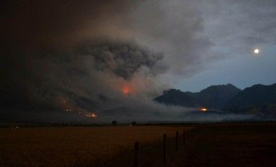 Assisting Pine Creek Fire Victims