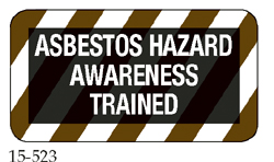 Asbestos Hazard Awareness Trained