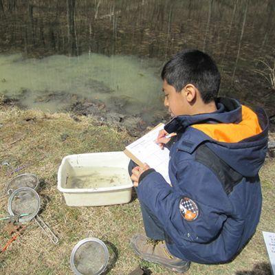 Pond Exploration and Scavenger Hunt