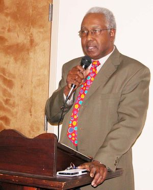 DR. COSMOS GEORGE, WARREN COUNTY, NORTH CAROLINA NAACP PRESIDENT HOSTS TOWN HALL DISCUSSION ON GUN VIOLENCE PREVENTION