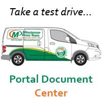 Minuteman Press Online Document Management Portland Oregon