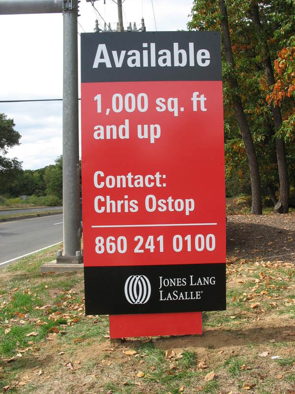 """Real Estate """"Available"""" Upscale Pylon Look Sign"""