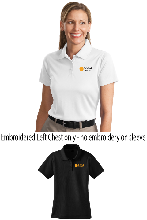 Embroidered - Plain Polo - Ladies