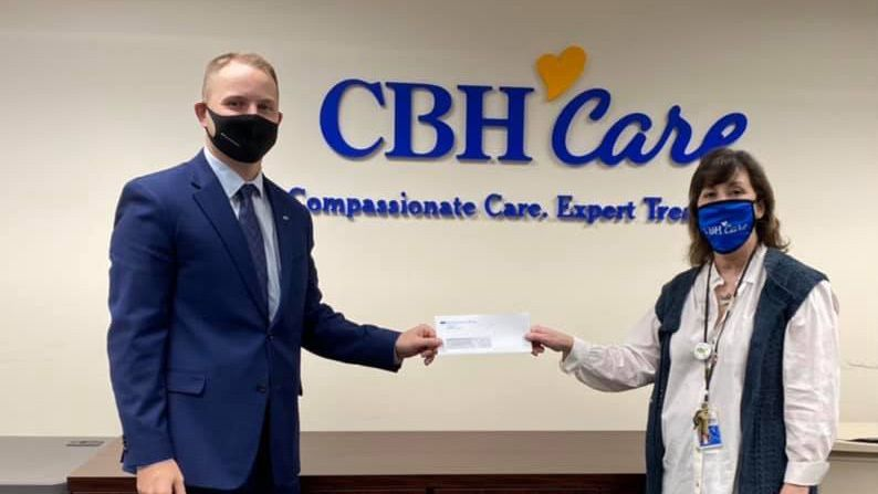 Spencer Savings Bank Supports Mental Health Initiatives, Donates $7,500 To CBH Care