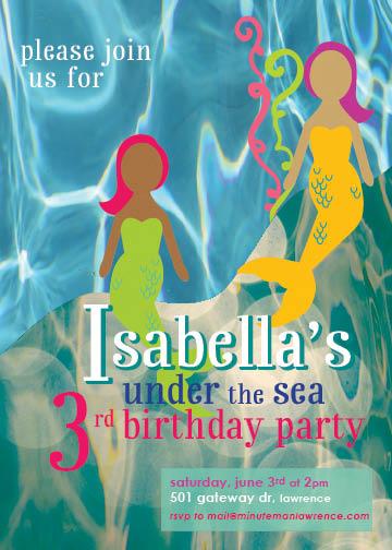 Birthday Girl Mermaid