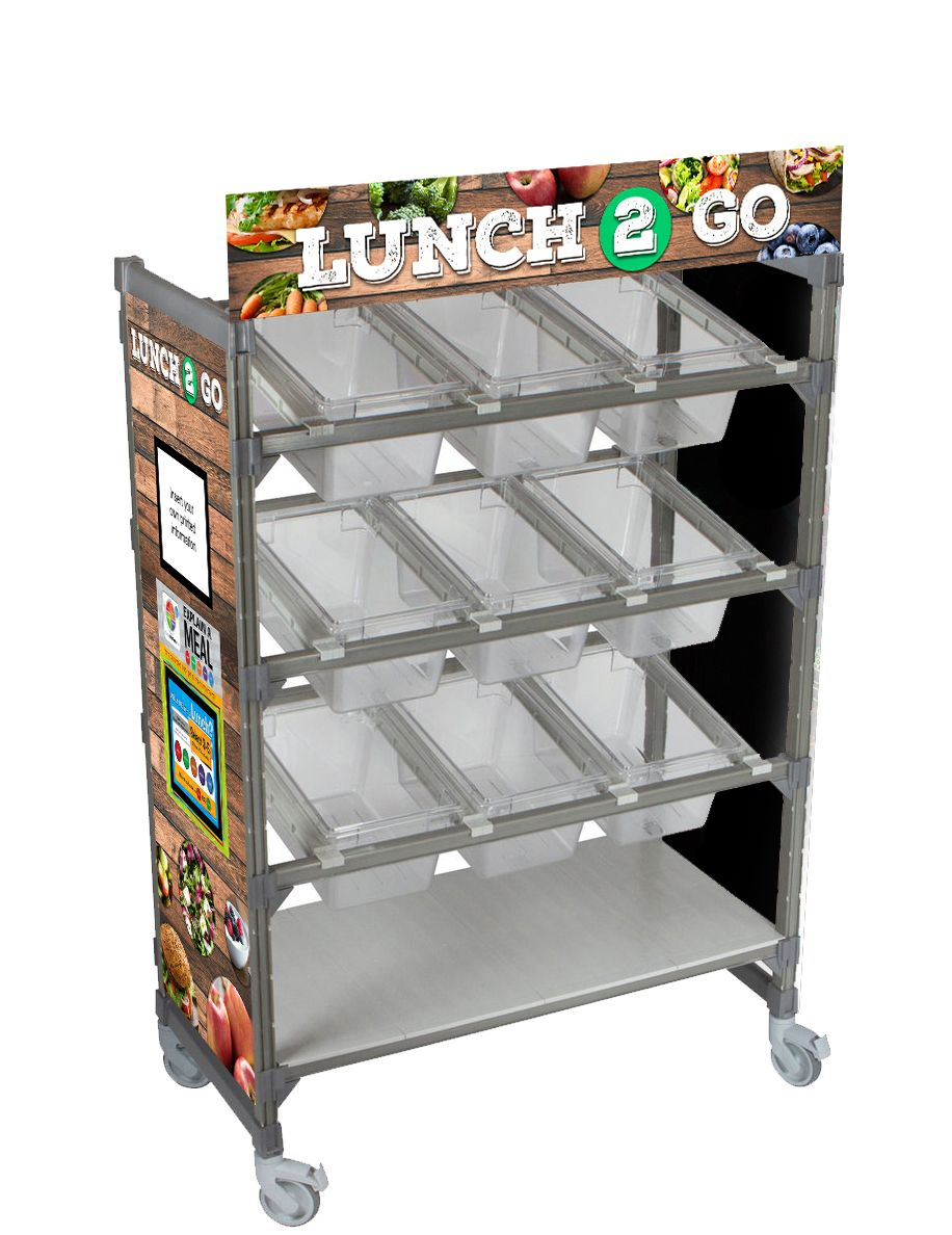 Lunch 2 Go Flex Cart Graphics