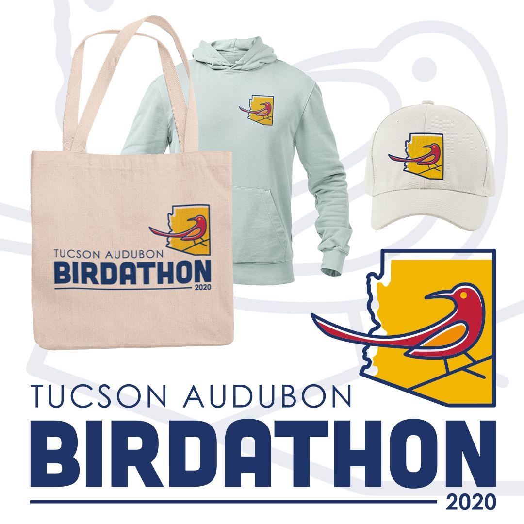 """Tucson Audubon's """"Birdathon"""" Logo"""