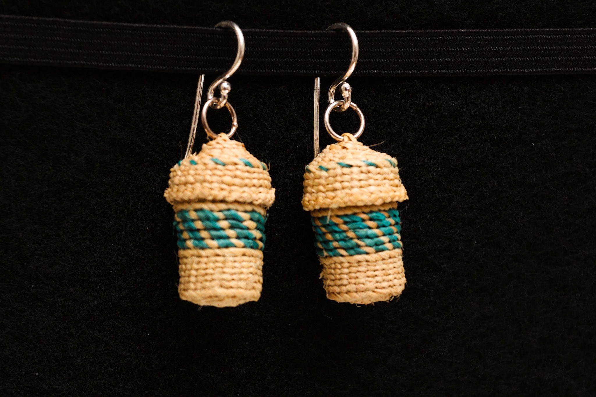 """Basket Earrings"" - Mimi Kotlarov"