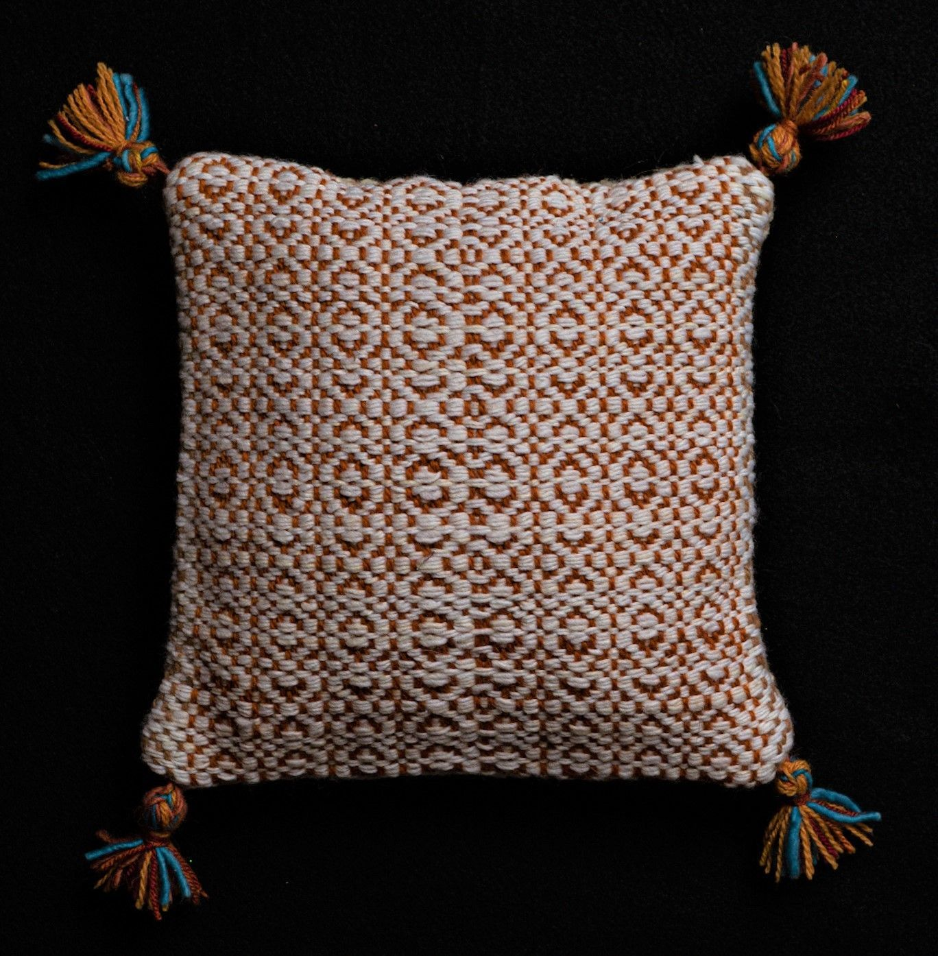 "Ann  Carlson - ""Tasseled Pillow"""