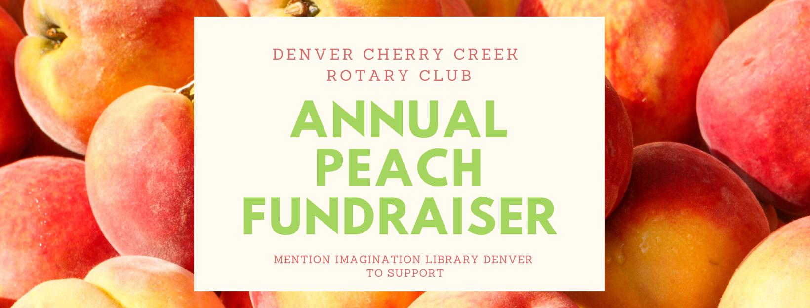 Rotary Club Annual Peach Fundraiser