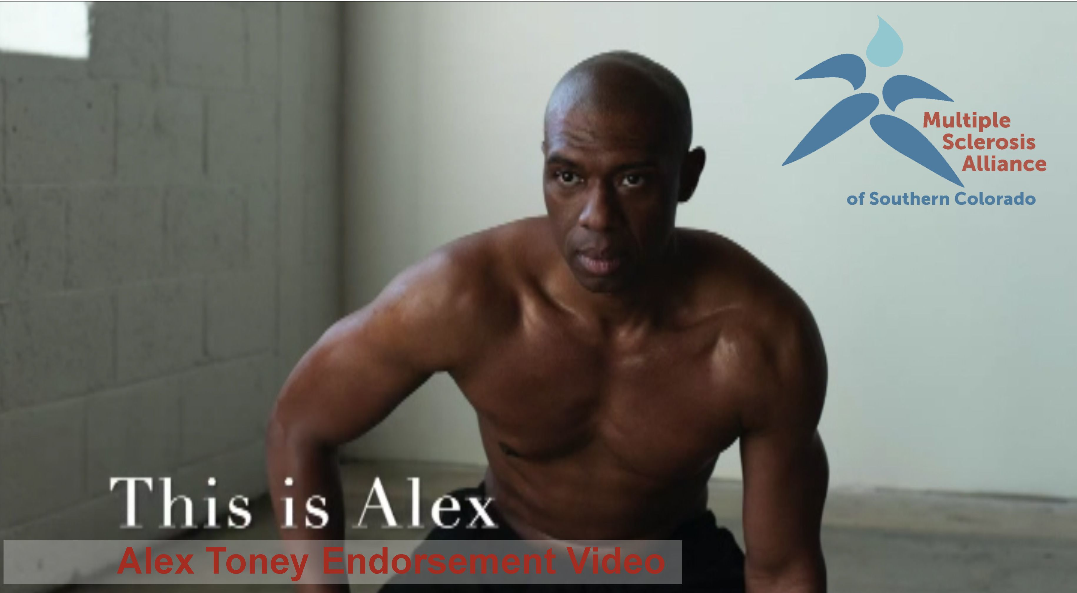 Alex Toney Endorses MSA!
