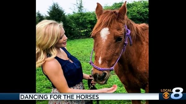 WVLT's Sarah Jane Cobb is Dancing For The Horses!
