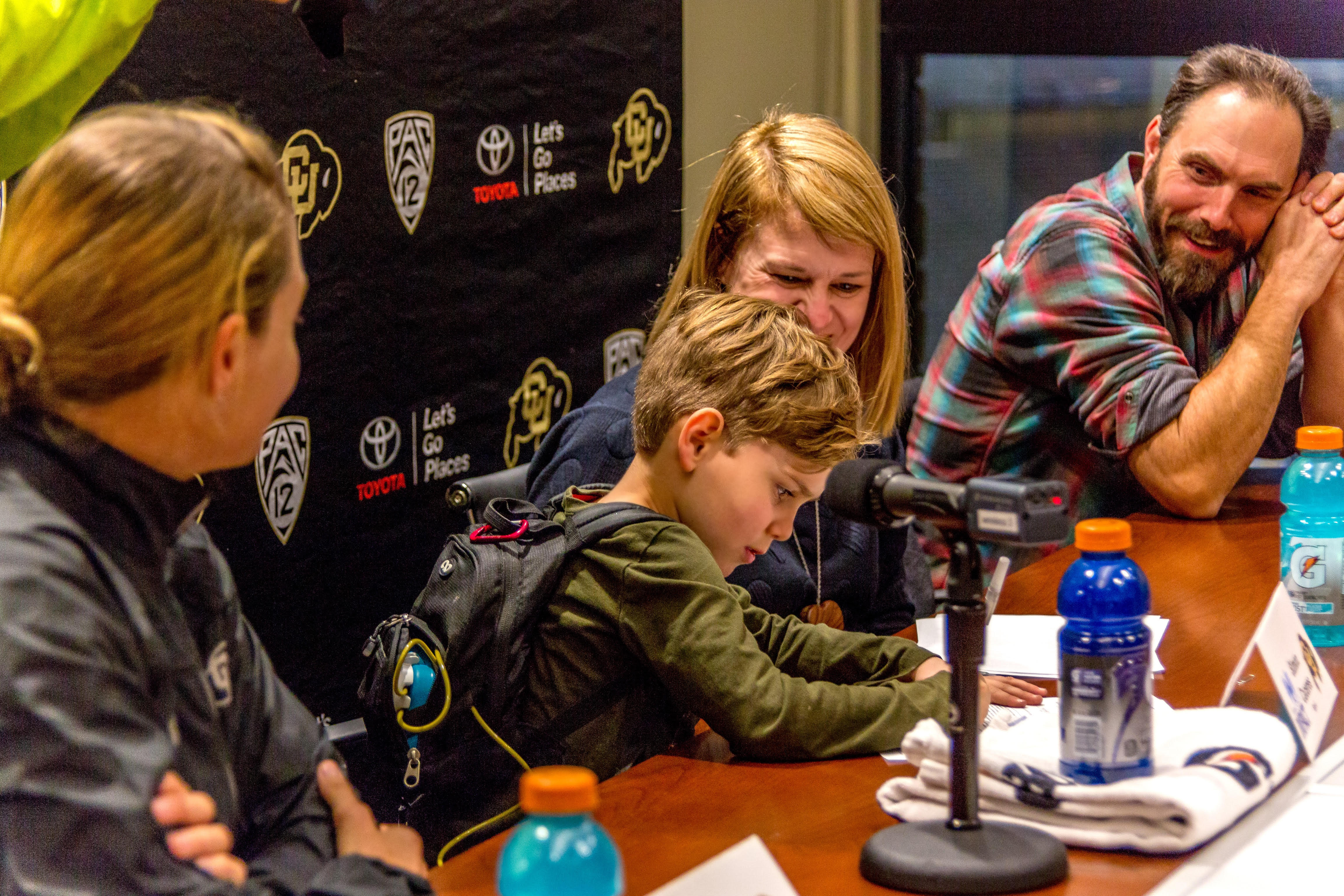 7-year-old with cystic fibrosis making strides while inspiring Colorado Buffaloes