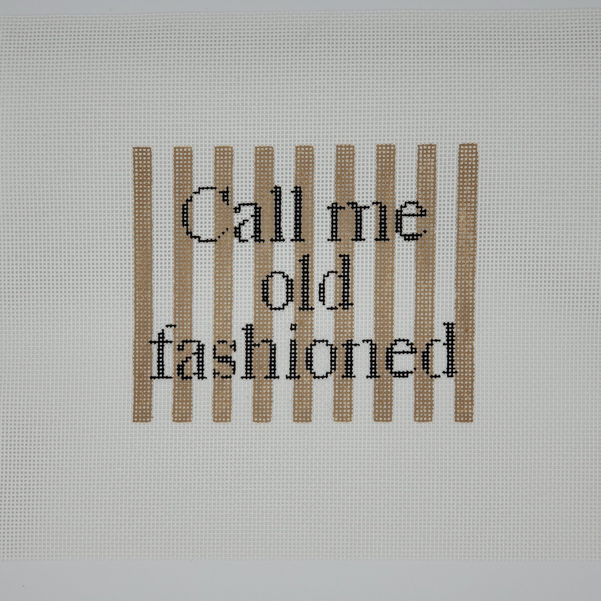 Call Me Old Fashioned