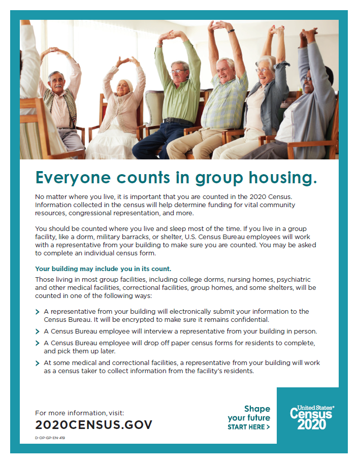 Everyone Counts in Group Housing