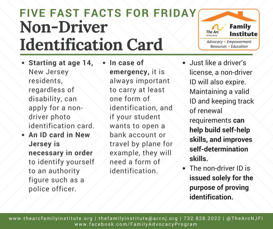 Non-Driver Identification Card