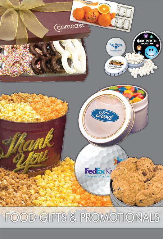 *NEW* Food Gifts & Promotional Items