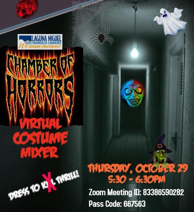 """""""Chamber of Horrors"""" Costume Mixer"""