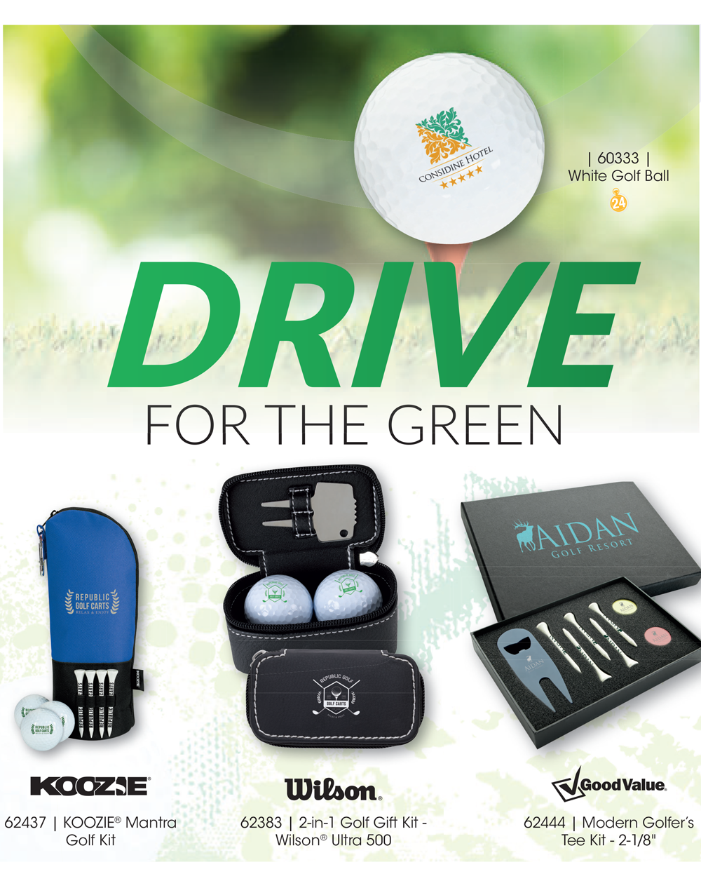 Perfect Items for Golf Lovers