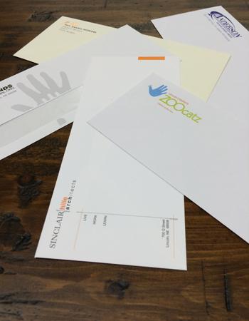 Full Color & Black Ink Only Envelopes