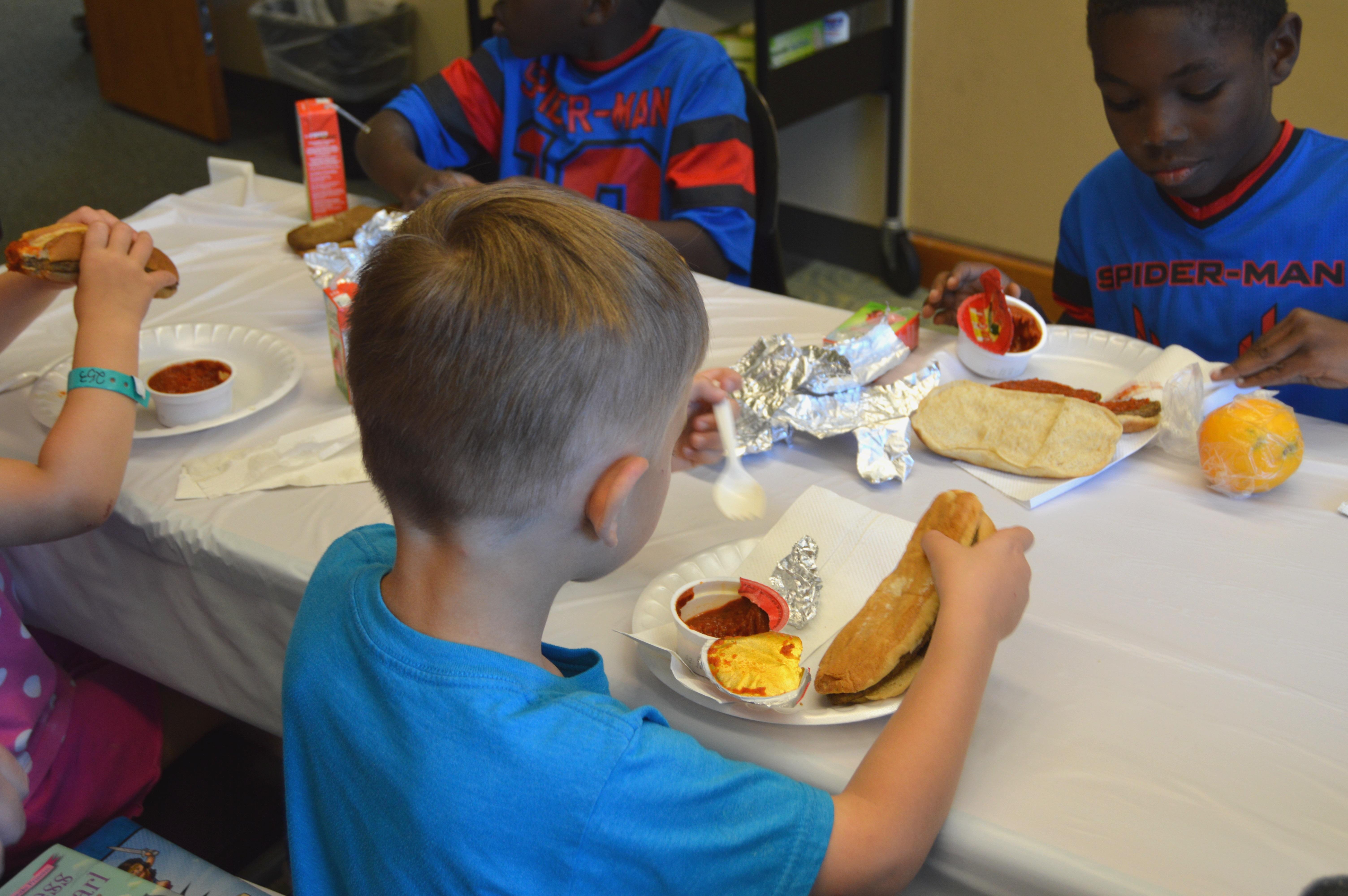 Summer meal program