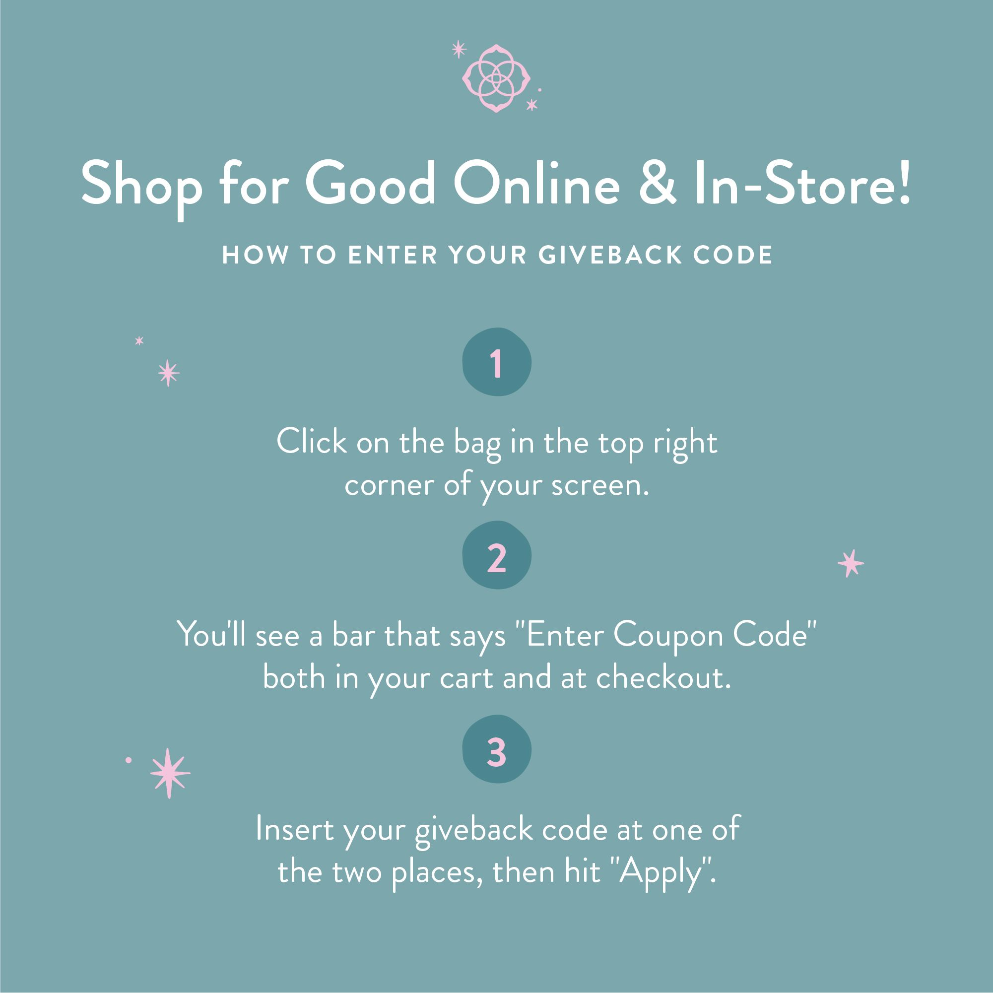 Shop for Good Online & In-Store at Kendra Scott!