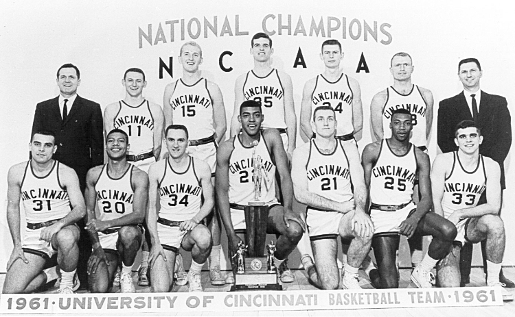 University of Cincinnati 1961 NCAA Champions